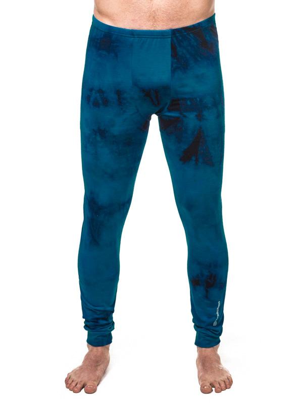 Horsefeathers Termoprádlo Silas Pant Blue Batik - L modrá