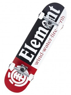ELEMENT komplet SECTION BLK/RED 7.5