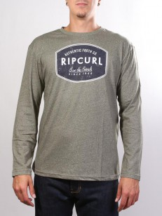 RIP CURL tričko SCRATCHED WINDOW Dusty Olive Mar