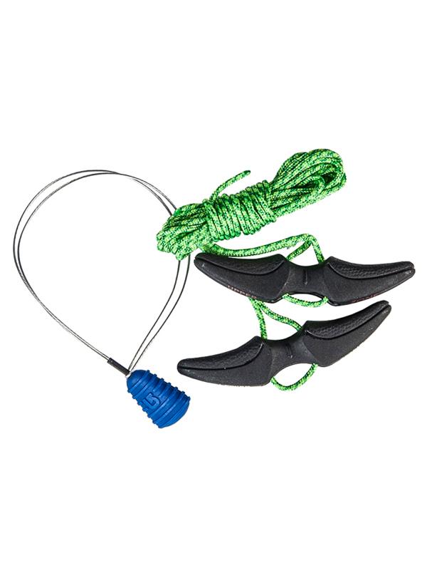 Burton Snowboardové Tkaničky Lace Kit Green zelená