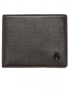 NIXON peněženka ARC BI-FOLD ALLBLACK