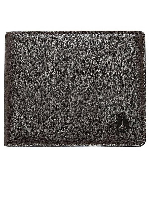Nixon Peněženka Arc Bi-fold Allblack černá