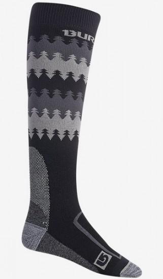 BURTON ponožky BUFFER II TRUE BLACK
