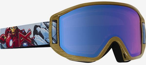 Anon Brýle Relapse Jr Ironman/blue Amber