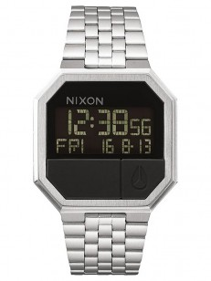 NIXON hodinky RE-RUN BLACK