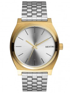 NIXON hodinky TIME TELLER GOLD/SILVER/SILVER