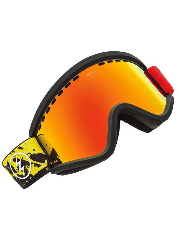 Electric Brýle Egv Red Yellow Splat Brose/red Chro žlutá