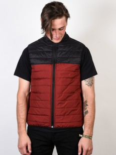 ELEMENT vesta PUFF VEST SYRAH HEATHER
