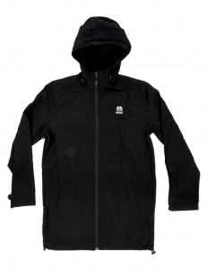RVCA bunda ESPO TRENCH BLACK