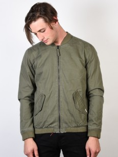 RVCA bunda ALL CITY BOMBER BURNT OLIVE