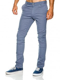 RVCA kalhoty STAPLER TWILL BLUE SLATE