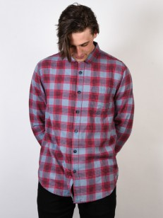 BILLABONG košile FREMONT FLANNEL DEEP BLUE