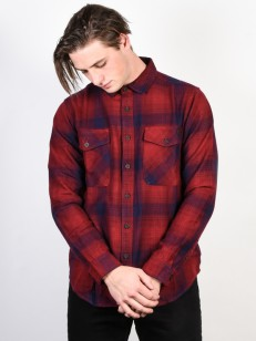 BILLABONG košile VENTURA FLANNEL RED