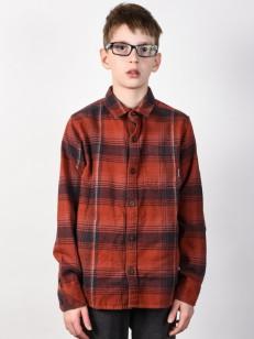 BILLABONG košile COASTLINE FLANNEL RED