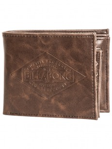 BILLABONG peněženka BRONSON CHOCOLATE