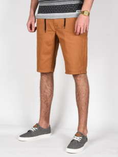 ELEMENT kraťasy OWEN COLOR RUST BROWN