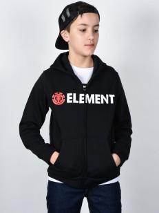 ELEMENT mikina HORIZONTAL FLINT BLACK