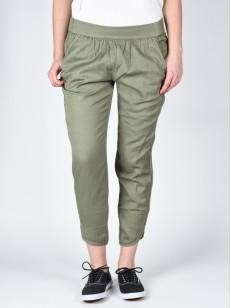 RVCA plátěné kalhoty DAYDREAM SMOKE GREEN