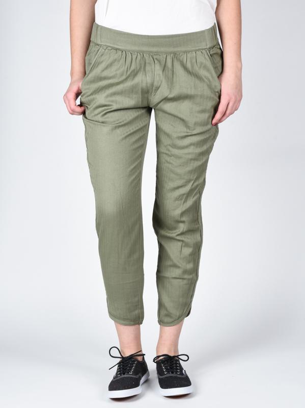 Rvca Plátěné Kalhoty Daydream Smoke Green - Xs zelená