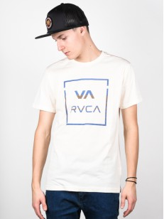 RVCA triko ROLLO ALL THE WAY ALMOND HEATHER