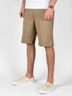 BILLABONG kraťasy CARTER DARK KHAKI