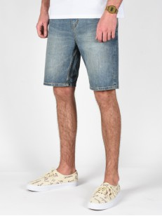 BILLABONG kraťasy OUTSIDER 5 P. DENIM BLEACH DAZE