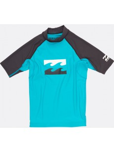BILLABONG triko TEAM WAVES AQUA