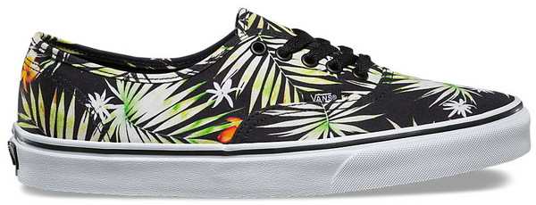 Vans Boty Authentic (decay Palms) - 4,5usw