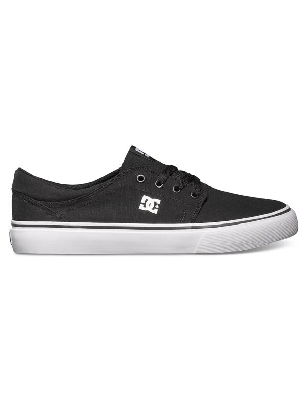 Dc Boty Trase Tx Black/white - 8,5us černá