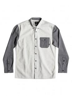 QUIKSILVER košile CUBIC FEW BIRCH HEATHER
