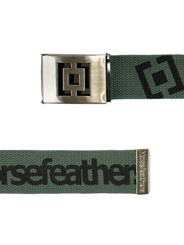 Horsefeathers Pásek Icon Olive