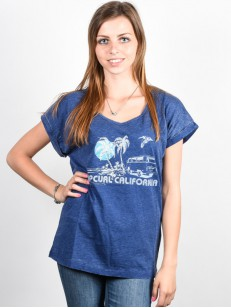 RIP CURL tričko ENCANTO BLUE DEPTHS