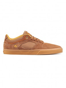 EMERICA boty THE HSU LOW VULC BROWN/GUM
