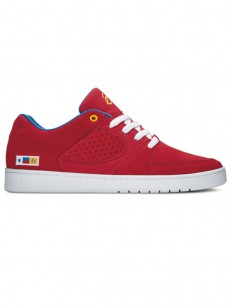 ÉS topánky ACCEL SLIM RED/BLUE/WHITE