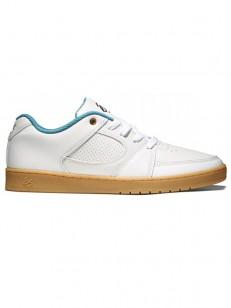 ÉS topánky ACCEL SLIM WHITE/GUM