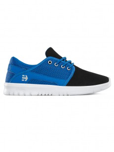 ETNIES boty KIDS SCOUT BLACK/BLUE/GREY