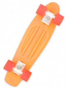 MILLER pennyboard ICE LOLLY TANGERINE ORANGE 23""