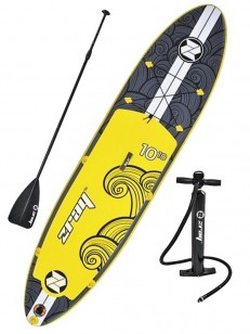 ZRAY paddleboard X2 Black/Yellow 10,10-30-6