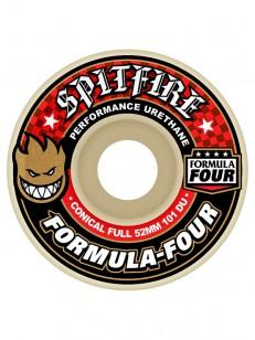 SPITFIRE kolieska FORM.FOUR 101D CONCL FULL RED