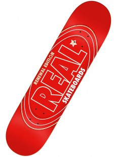 REAL deska RENEWAL OVAL RED 7.3