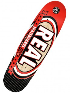 REAL deska RENEWAL SELECT NOMAD RED/BLK 9