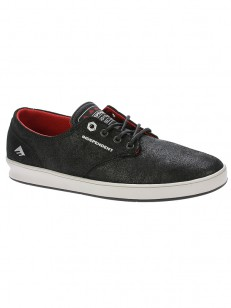 EMERICA boty ROMERO LACED X INDY BLACK/GREY/BLACK