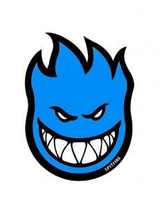 SPITFIRE  STICKER FIREBALL BLUE