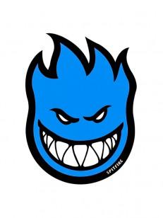 SPITFIRE samolepka STICKER FIREBALL BLUE