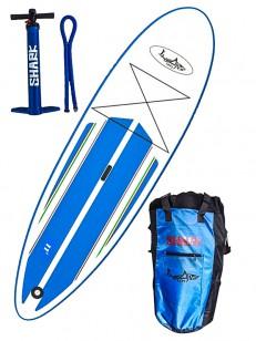 SHARK paddleboard ALLROUND BLU/WHT 11-34