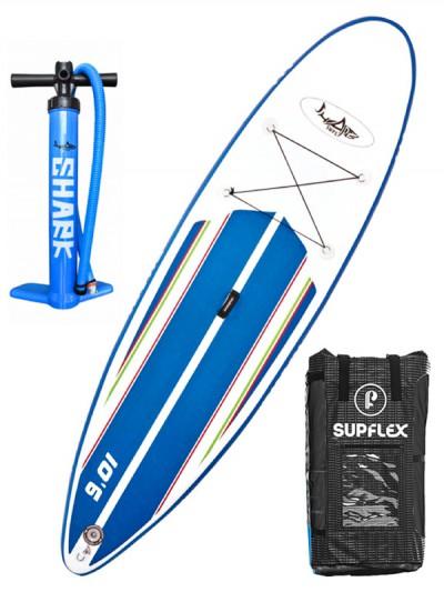 SHARK paddleboard ALLROUND CROSS BLU/WHT 10,6-30