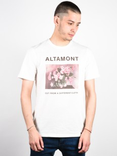 ALTAMONT triko CFADC FLOWERS DIRTY WHITE