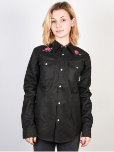 RIDE mikina SHACKET BLACK WOOL