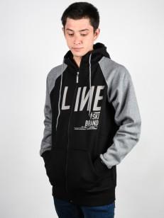 LINE mikina ORIGINAL BLACK