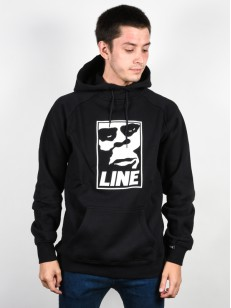 LINE mikina SENDER BLACK